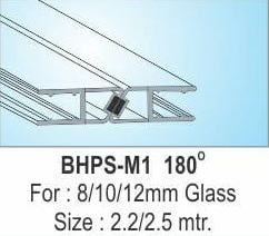 GLASS DOOR MAGNETIC SEAL