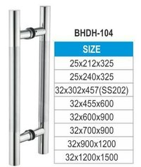 GLASS DOOR H HANDLE