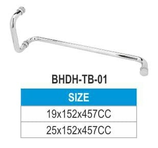 TOWEL BAR (SHOWER GLASS DOOR HANDLE)