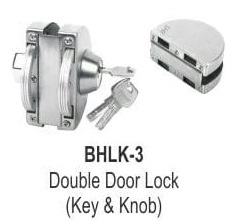 DOUBLE DOOR LOCK (KEY AND KNOB)