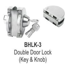 DOUBLE DOOR LOCK (KEY AND KNOB)