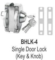 SINGLE DOOR LOCK (KEY AND KNOB)