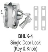 SINGLE DOOR LOCK (KEY AND KNOB)