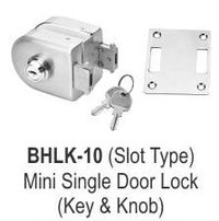 MINI SINGLE DOOR LOCK (KEY AND KNOB)