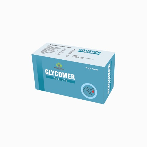 Herbal Glycomer Tablets