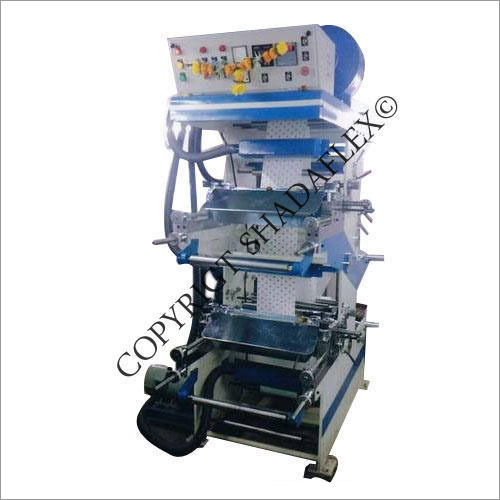 Online And Offline Two Color Flexo Printing Machine