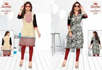 FANCY COTTON PRINTED UNSTITCHED KURTI