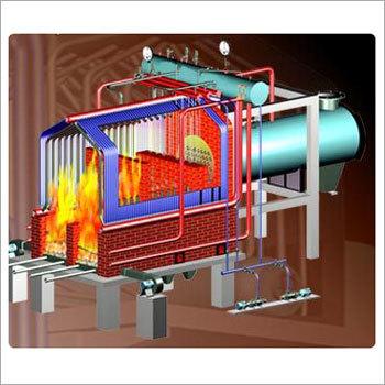 husk fired steam boiler