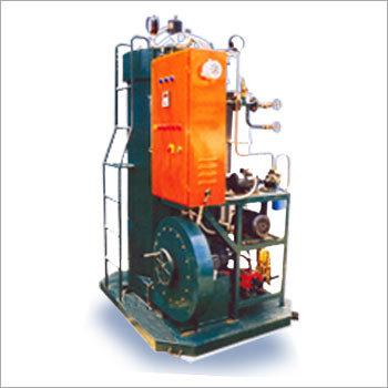 Reverse flow Steam Boiler