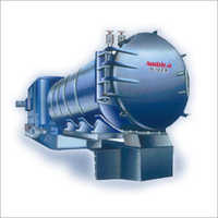 Horizontal Thermic Fluid Heater