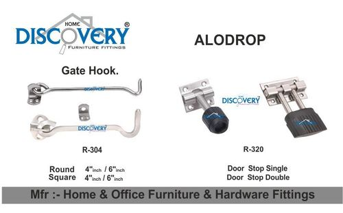 Door Aldrop and Latch