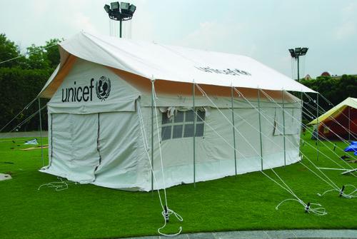 FRAME TENT UNICEF
