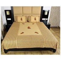 Patch Work Double Bed Sheets