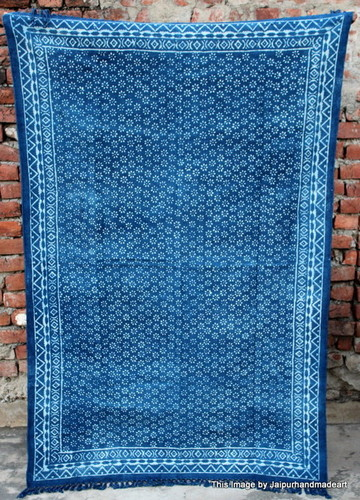 Hand Printed Cotton Rugs