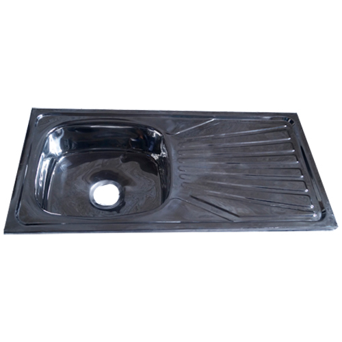 Single Bowl Drain Kitchen Sink