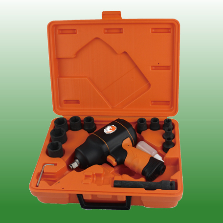 Pneumatic Alloy Composite Impact Wrench Kit