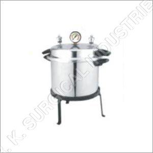 Cooker Type Autoclave (Portable) Single -Double Drum Aluminum