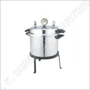 Cooker Type Autoclave (Portable) Single -Double Drum Aluminum