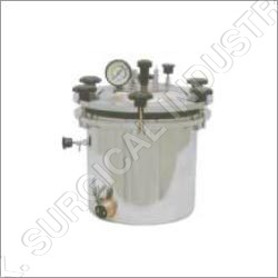 Autoclave (Portable) Wing Nut Type (S S) Electric