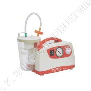 Instad Portable Suction Unit AC-DC DC Ac