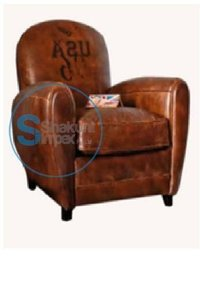 Vintage Brown Leather Club chair