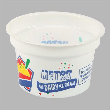 Plastic Ice Cream Cup
