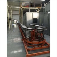 Painting Coating Line for Auto Parts