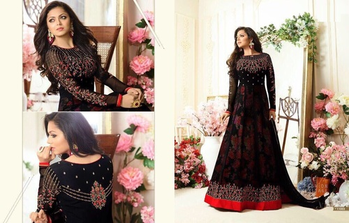 Long Ethnic Designer Suit Online
