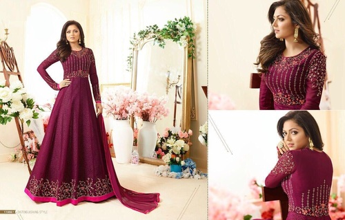 Long Salwar Kameez Design For Stitching