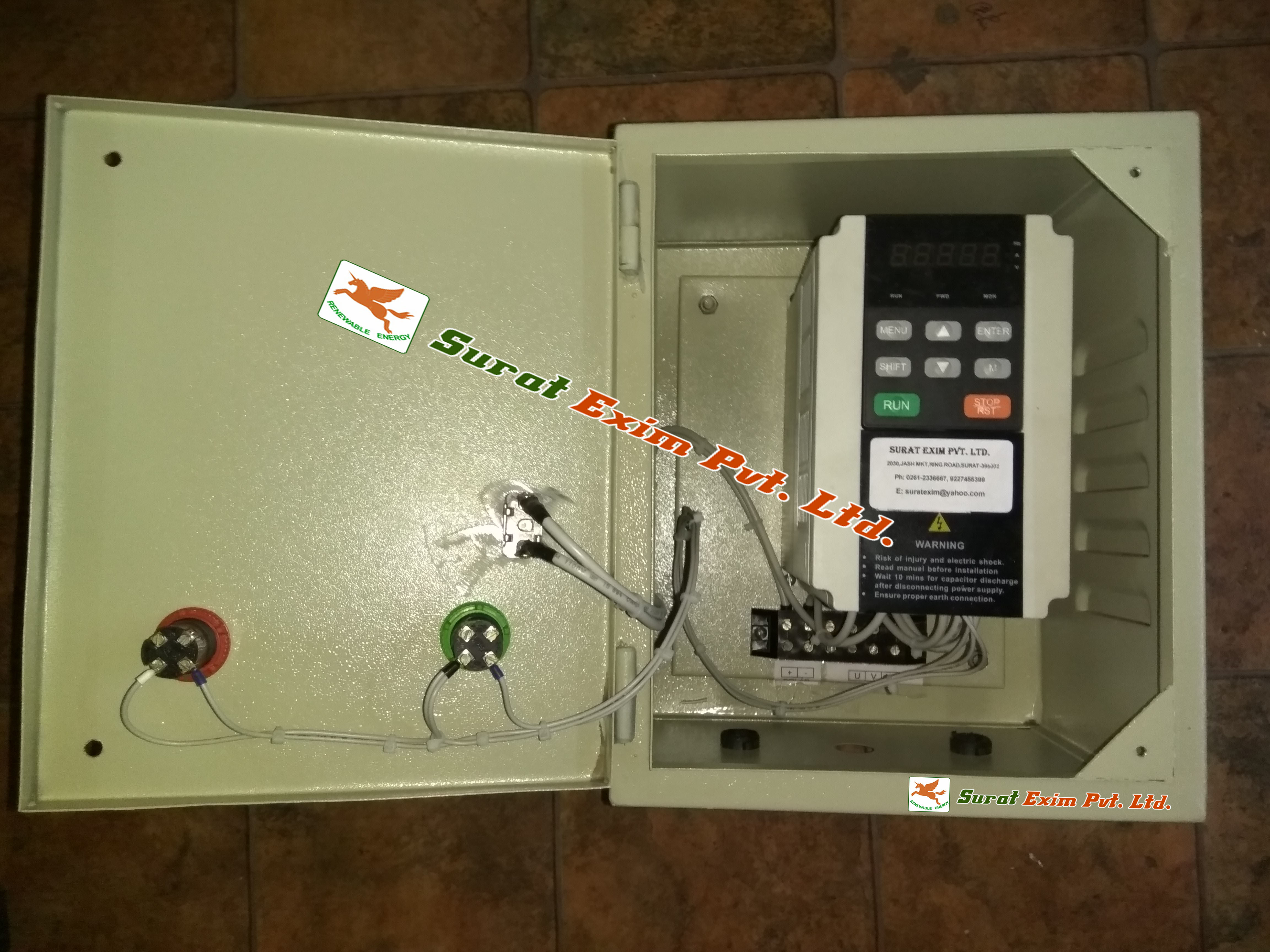 3 Phase Solar Water Pump Controller 415V 7.5HP
