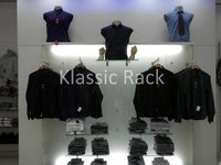 Adjustable Clothing Display Rack