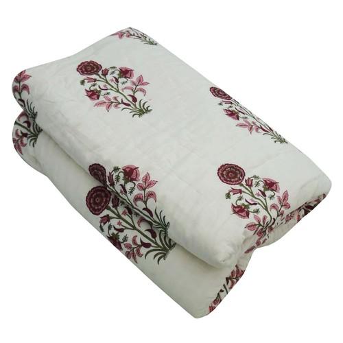 Printed Cotton Jaipuri Quilts