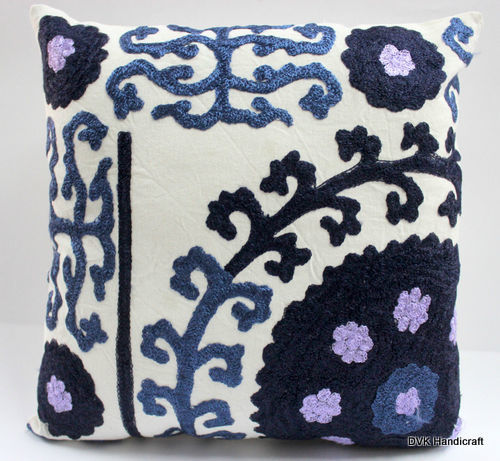 Suzani Designer Hand Embroidered Cushion Cover