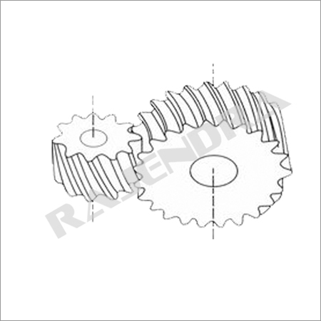 Cross Helical Gear