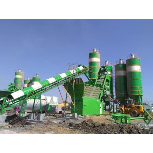 Stationary Concrete Batching Plants