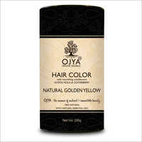 Golden Yellow Hair Color
