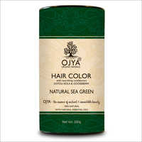 Sea Green Hair Color