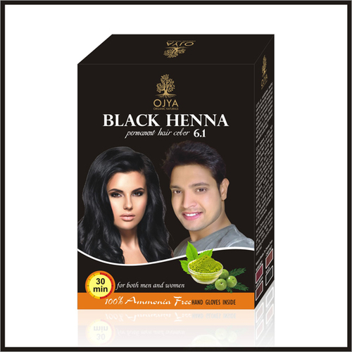 Black Hair Color 60g