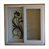 Printed Slider Window Frame