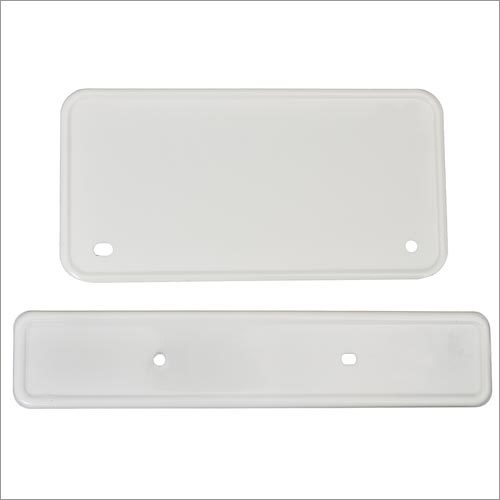 Two Wheeler Number Plate  Set
