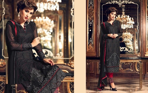 Georgette Salwar Kameez Designs Wholesaler