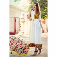 New Fashion Trend Printed Kurti
