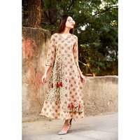 Ethnic Trend Fashion Casual Wear Ladies Cotton Kurti
