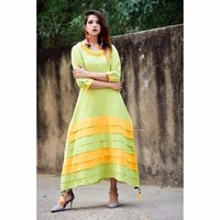 New Collection Designer Printed Cotton Kurti