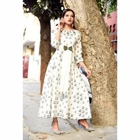 Women's Party Wear Designer printed Kurti