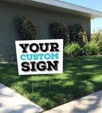 4mm Coroplast Yard Signs