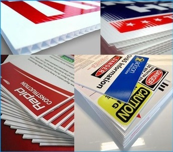 PP Corrugated Signs