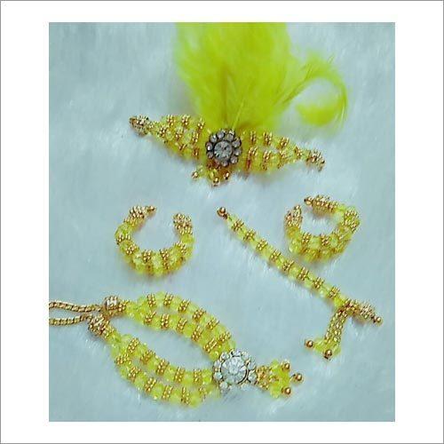 Laddu Gopalの水晶の宝石類
