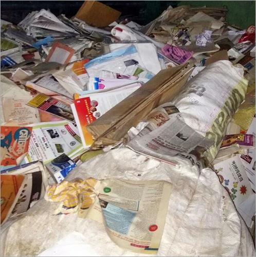 Waste Paper Book Scraps