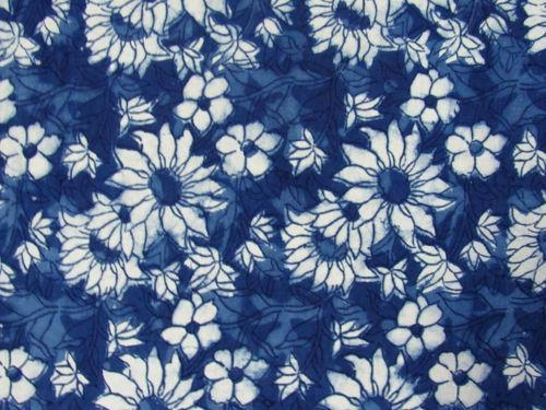 Sanganeri Cotton Block Printed Fabric